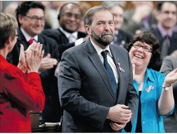 NDP Leader race crowded, on the right