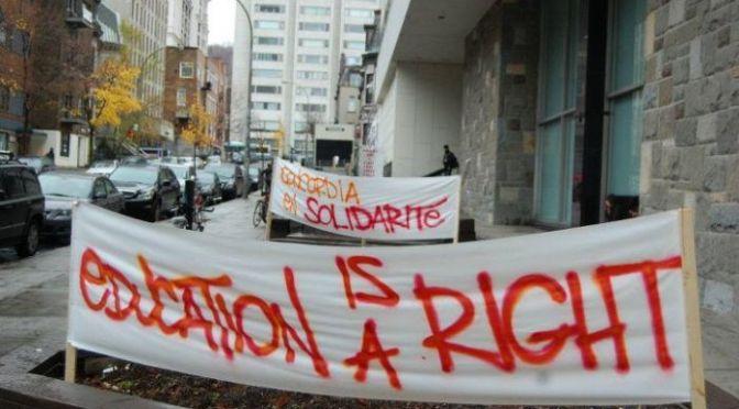 Quebec Student Revolt Continues