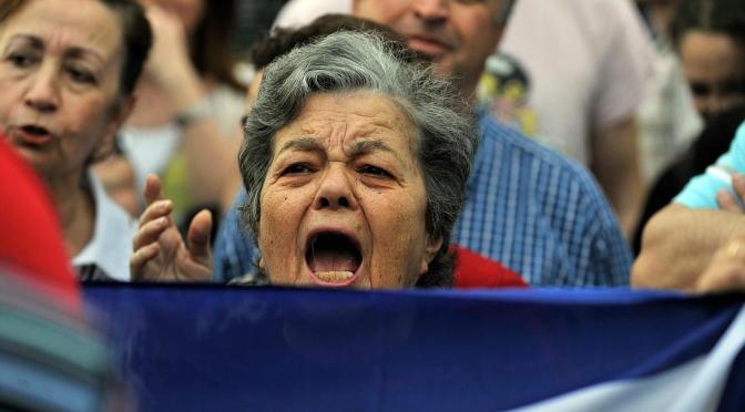 Greek Socialist Speaks About Anti-Austerity Fight