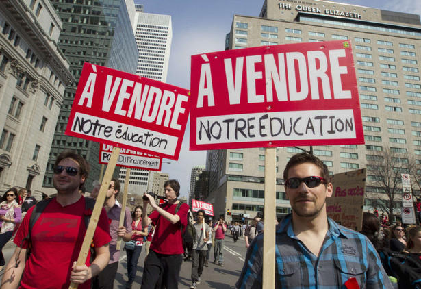 Quebec's repressive response to student protests