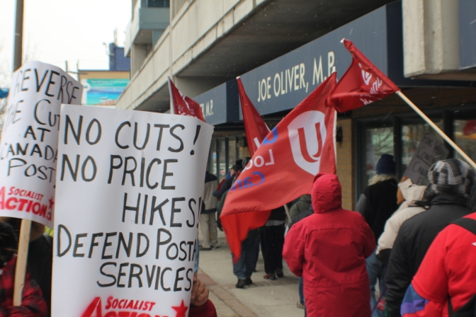 MASS PICKET!!! DEFEND THE POSTAL SERVICE!
