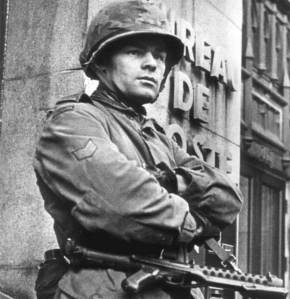 Canadian soldier in Montreal during 1970 FLQ crisis