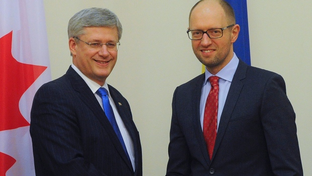 Harper's Hypocrisy on Ukraine