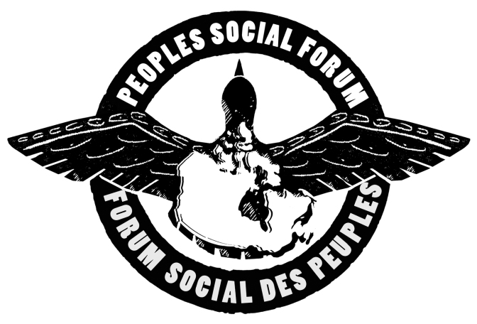 On to Ottawa for the Peoples' Social Forum