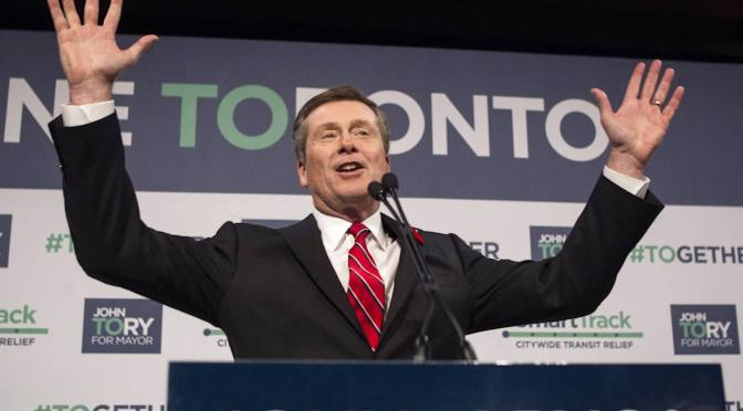 Big Biz comes out ahead in Toronto city election