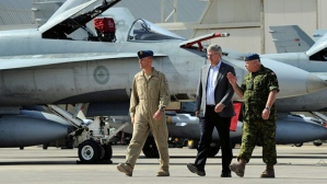 Harper in Libya