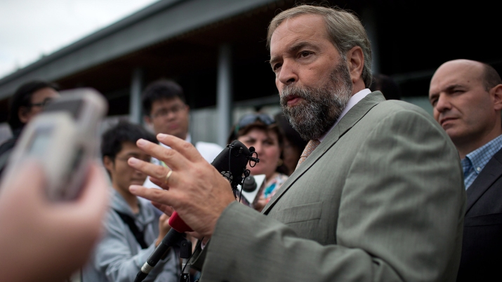 Thomas Mulcair, Nathan Cullen