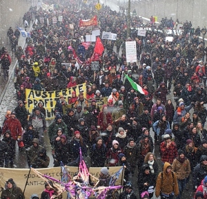 Thousands in Montreal unite against austerity and petro-economy