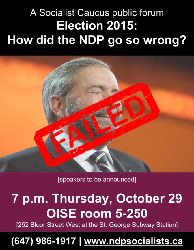 Election 2015: How did the NDP go so wrong?