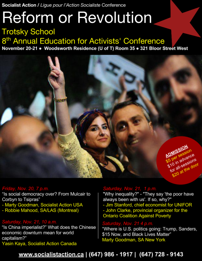 Reform or Revolution: Annual Education for Activists' Conference