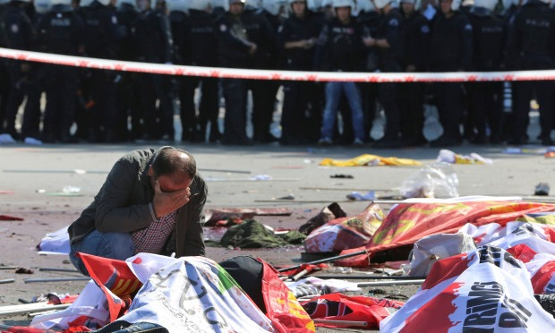 Twin Blasts Kill Activists in Turkey