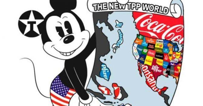 Trans Pacific Partnership – Charter of Rights for Big Business