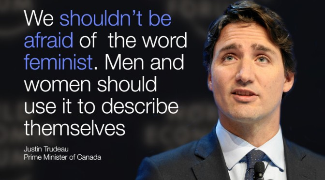 "How ""inspiring"" is Trudeau's ""feminism""?"