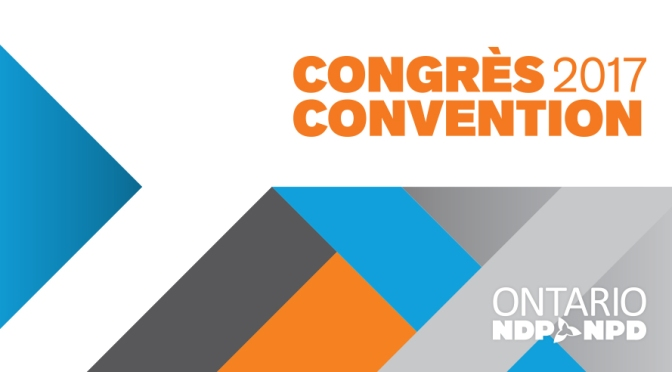A short report on the Ontario NDP Convention… and related texts