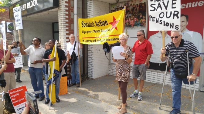 Socialist Action remarks to September 18 rally against Bill C-27