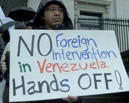 Socialist Action remarks at the Hands Off Venezuela rally at US Consulate on September 16, 2017