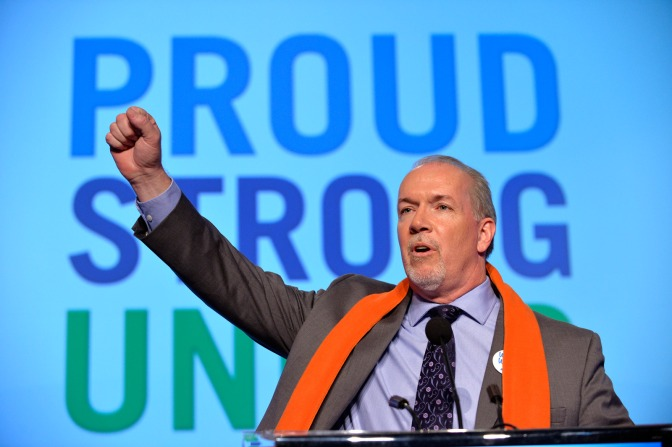 High Expectations confront New NDP Gov't in British Columbia
