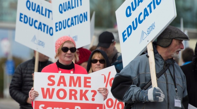 Liberals break Ontario College Teachers Strike – with hardly a peep from union tops
