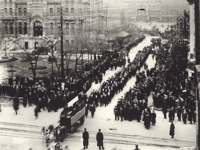 The Winnipeg General strike in the Context of the Bolshevik Revolution