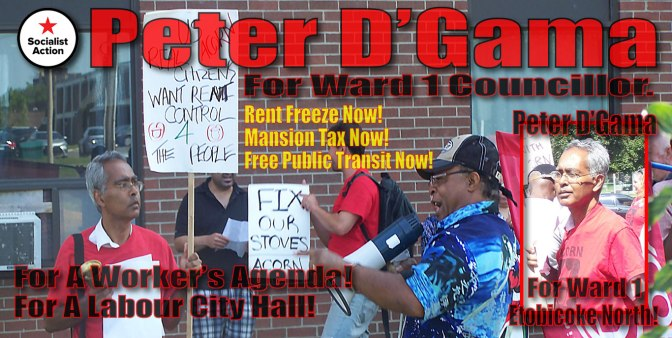 Fund Raiser: Peter D'Gama For Ward 1 Councillor