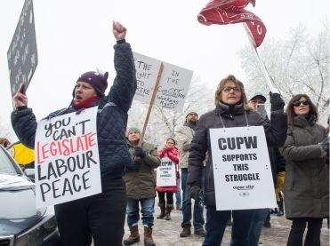 In Canada, the Right to Strike Exists… Until you Try to Use it
