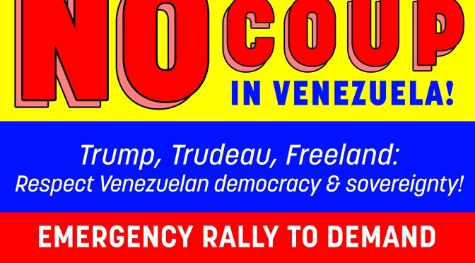 Canada, Hands Off Venezuela!
