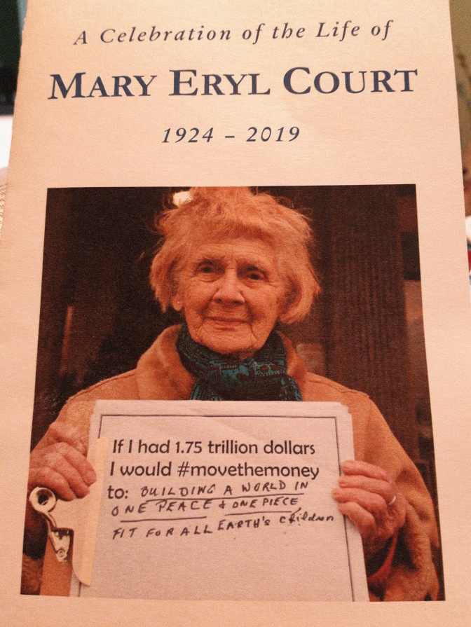 Eulogy for Eryl Court