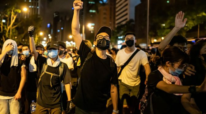 Anti-extradition movement in Hong Kong