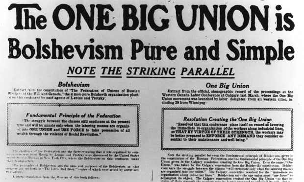 The Winnipeg General Strike: from Revolt to Revolution?