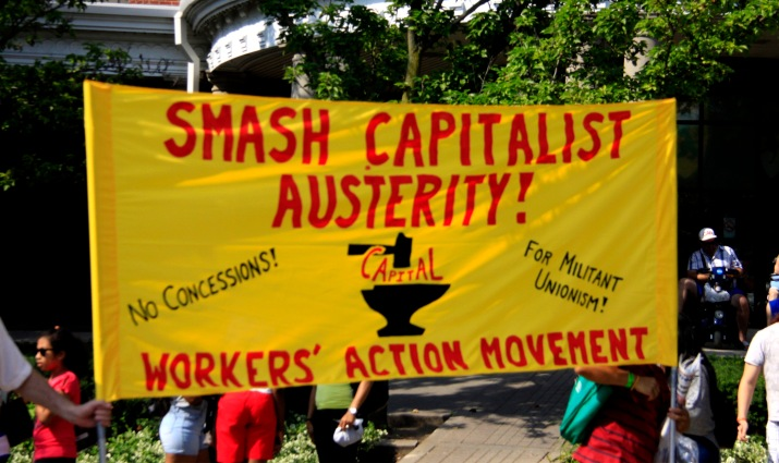 Labour Day, Toronto, 2015
